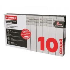 ROMMER 10 секций радиатор биметаллический Profi BM 350