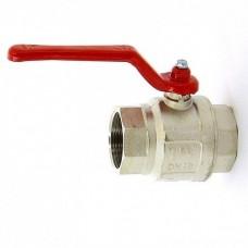 Кран шаровый ,стальная рукоятка 1 1/2 вн-вн TST